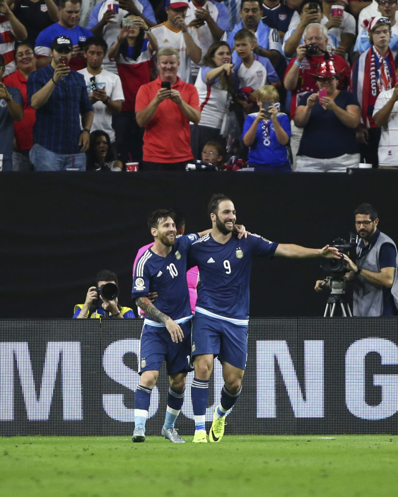 Soccer: 2016 Copa America Centenario-Argentina at USA